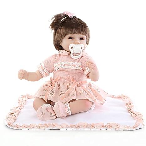 Terabithia 17 pouces Cute Truly Real Reborn bébé Poupées