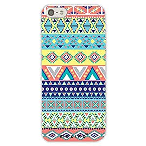 Mozine Aztec Pinky Yellow Pattern Printed Mobile Back Cover For Apple Iphone 6s Plus