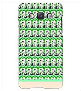 PrintDhaba Cartoon Pattern D-1558 Back Case Cover for SAMSUNG GALAXY E5 (Multi-Coloured)