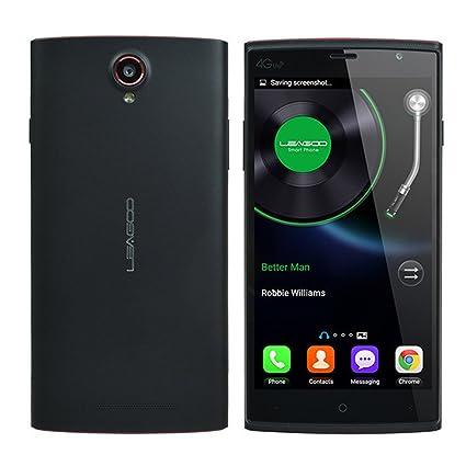 LEAGOO Elite 5 5.5-inch Android 5.1 MTK6735 Quad-core 2GB RAM 16GB ROM 4G Smartphone (Noir)