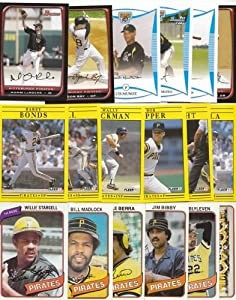 Pittsburgh Pirates 1000 Pirates Baseball Cards - All Different! All Pirates! 1970