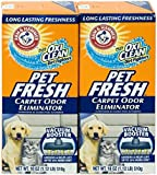 Arm & Hammer Pet Fresh Carpet Odor Eliminator Plus Oxi Clean Dirt Fighters (2 Pack)