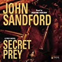 Secret Prey: Lucas Davenport, Book 9 (       UNABRIDGED) by John Sandford Narrated by Richard Ferrone