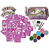 Princess Body Art Glitter Tattoo Kit / Gift Set