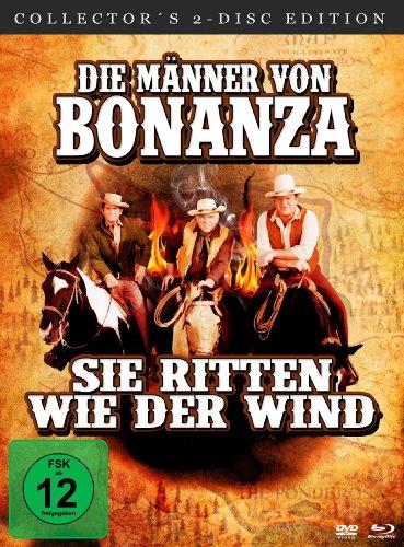 Die Männer von Bonanza, sie ritten wie der Wind - Mediabook (Digital Remastered) [Blu-ray + DVD] [Collector's Edition]