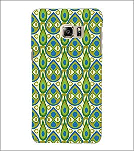 PrintDhaba Pattern D-5407 Back Case Cover for SAMSUNG GALAXY NOTE 5 EDGE (Multi-Coloured)