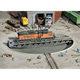 """Walthers Cornerstone Series&#174 HO Scale 90' Turntable Kit Pit Diameter: 13-3/16"""" 33cm Bridge Holds Loco Up To 12-3/8"""" 30.9cm"""