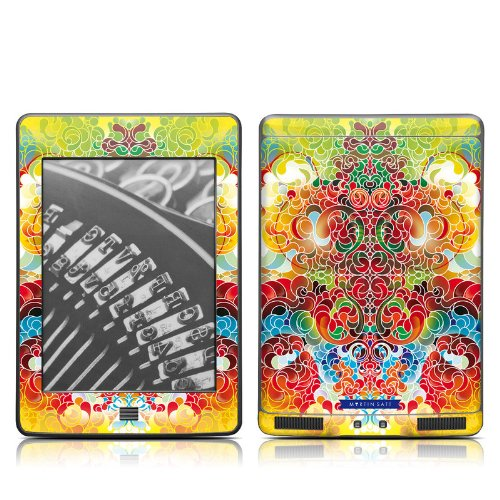 Chic Design Protective Decal Skin Sticker For Amazon Kindle Touch / Touch 3G (6 Inch Ink Display With Multi-Touch)