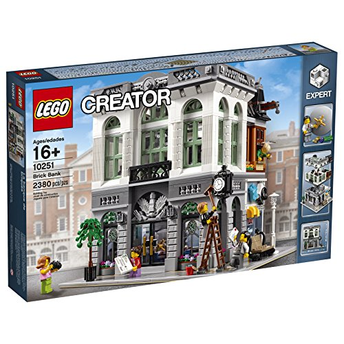LEGO-Creator-Expert-Brick-Bank-Building-Kit-2380-Piece