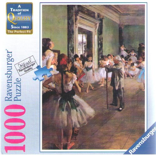 1000 Ravensburger Puzzle Degas: The School of Dance