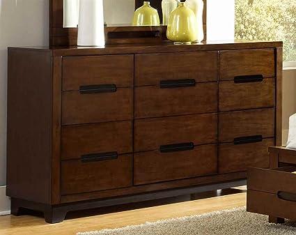 Progressive Furniture P114-23 Drawer Dresser PortlandCollection