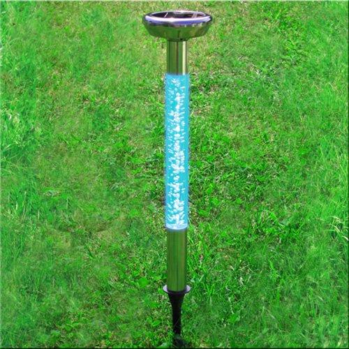 Solarleuchte 'COLOR BUBBLE' mit Lichtsensor – Verzaubern Sie Ihren Garten oder Gehweg mit farbigen Lichtakzenten!