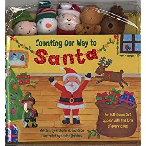 Counting Our Way to Santa [With Finger Puppets]