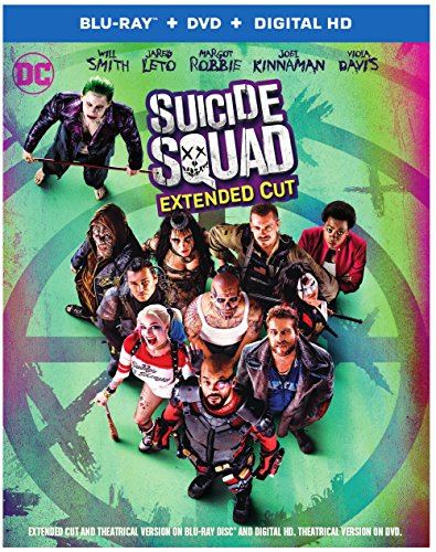 Suicide Squad (Blu-ray + DVD + Digital HD Ultraviolet Combo Pack)