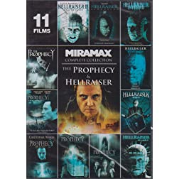 Prophecy &amp; Hellraiser Complete Miramax Collection