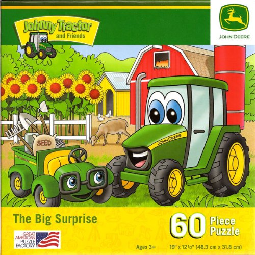 John Deere Jr. The Big Surprise, 60 Piece Jigsaw Puzzle (1 Each)