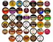 Pack of Two, 40-Each- Super Discount Size Package- Coffee & Flavored Coffee Single Serve Cups For Keurig K Cup Brewers Variety Pack Sampler