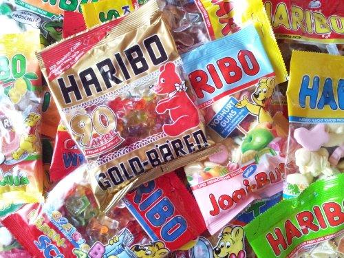 Haribo 8Kg. Überraschungspaket (40 x 200g. Tüten)