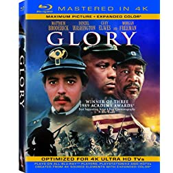 Glory  (Mastered in 4K) (Single-Disc Blu-ray + Ultra Violet Digital Copy)