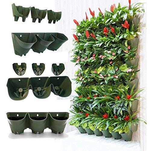 Top 5 best garden vertical planter for sale 2016 product for Macetas para muros verticales