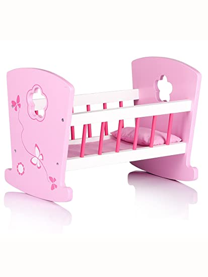 Wooden Cradle for Dolls