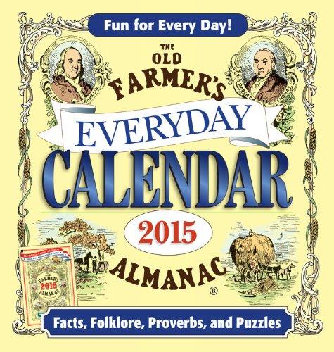 The Old Farmer's Almanac 2015 Everyday Calendar by Old Farmer's Almanac