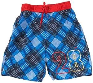 Speedo Nemo Children's Swimming Shorts Multi-Coloured blue check Size:128 (M)
