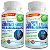 COLON CLEANSE - COLONIC IRRIGATION IN A BOTTLE ! Complete NATURAL HERBAL COLON CLEANSER & ORGAN FLUSH and DETOX - This NEW FORMULA Internal Cleaner Uses Only Natures Own Herbs and Plants Like ALOE VERA , DANDELION ROOT and GINGER to Gently But Effectively CLEANSE DETOXIFY & PURIFY Your Inner Body From Harmful Toxins and Poisons and Help With Digestion & Bowel Problems - 120 x Colon Pills For Up to 4 MONTHS SUPPLY and FREE UK DELIVERY and FREE Diet Plan / Heathy Eating Plan !