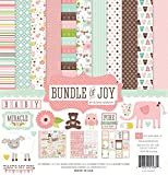 Echo Park Paper Bundle of Joy Girl Collection Scrapbooking Kit