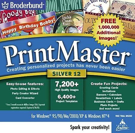 Printmaster Silver 12.0 (Jewel Case)
