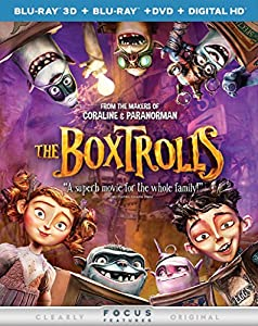 The Boxtrolls (Blu-ray 3D + Blu-ray + DVD + DIGITAL HD with UltraViolet) from Universal Studios