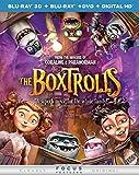 The Boxtrolls (Blu-ray 3D + Blu-ray + DVD + DIGITAL HD)