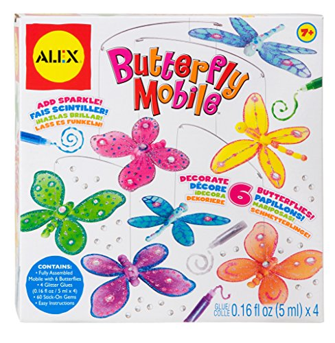 ALEX Toys Craft Butterfly Mobile - 1