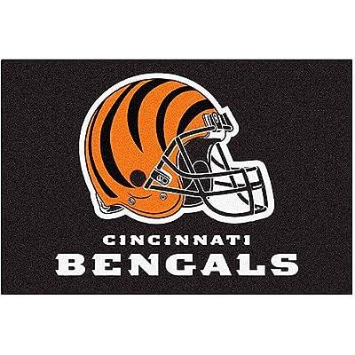 Fanmats Cincinnati Bengals 20x30 Starter Rug