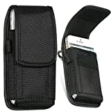 Belt Loop Hook Carabiner Holster Velcro Closure Nylon Bag Pouch Case For Mobile Phone Apple iPhone 3G/3GS 4/4S BlackBerry 9220/9320 Bold 9900 Samsung Galaxy S3 Mini i8190 S4 Mini i9190 Ace 2 i8160 Ace S5830 S i9000 HTC Desire A8181/Bravo LG GT540 Optimus