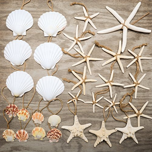 Hinterland Trading Nautical 30 Piece Nautical Christmas Ornament
