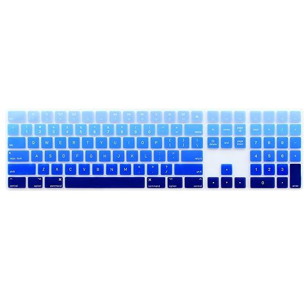 2017 Magic Keyboard with Numeric Keypad MQ052LL//A A1843 Silicone Keyboard Cover