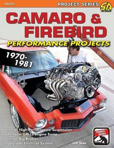 Camaro & Firebird Performance Projects: 1970-1981 [Tann, Jeff] (Tapa Blanda)