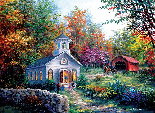 Worship in the Countryside 1500 Piece Jigsaw Puzzle by Sunsout Inc.