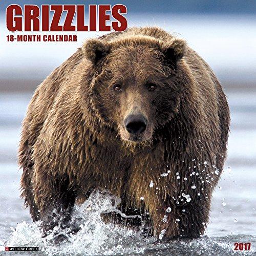 Grizzlies 2017 Wall Calendar