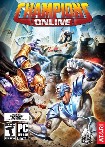 Champions Online DVD Game Cover