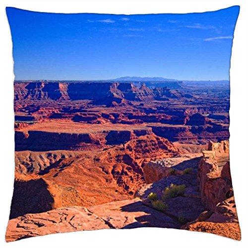 "Dead Horse Point, Moab, Utah - Throw Pillow Cover Case (18"" x 18"")"