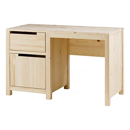 Bureau pin massif brut Customize-Bureau pin massif brut Customize