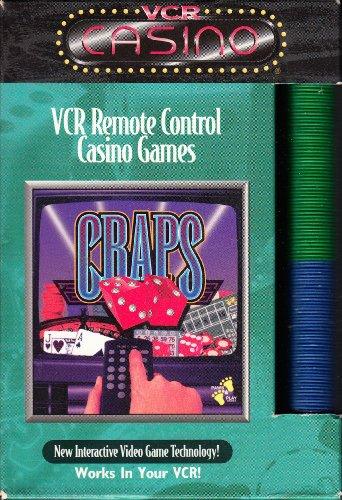 VCR REMOTE CONTROL CASINO GAMES (CRAPS) - 1