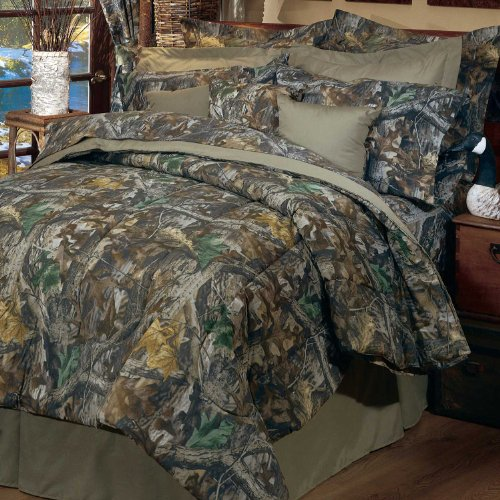 Realtree Timber Comforter Set, Queen