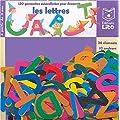 150 gommettes autocollantes : Les lettres de l'alphabet