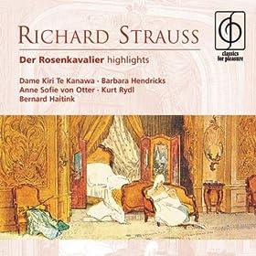 Der Rosenkavalier (highlights), Act II: Da lieg' ich! (Baron Ochs, Servants)...