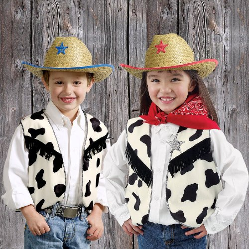 Cow Print Vests (8)
