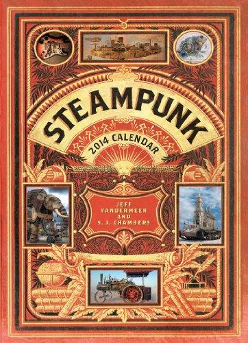 Steampunk 2014 Wall Calendar