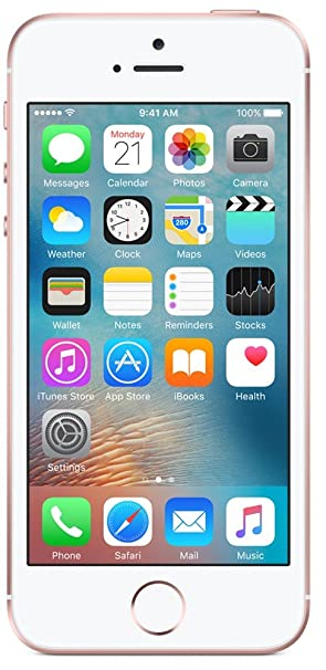 Apple iPhone SE (Rose Gold, 64GB) for 27,999.00 at Amazon
